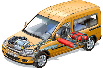 Схема ГБО автомобиля